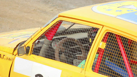 Race Car Driver 1 Stock Video Footage