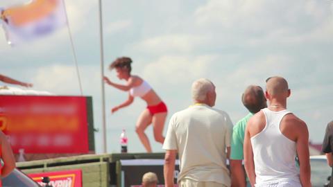 Strip Dance Stock Video Footage