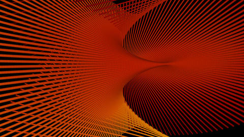 orange space with alpha Stock Video Footage