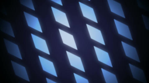 blue parallelogram Stock Video Footage