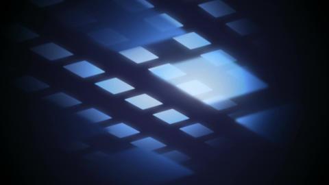 blue parallelogram Stock Video Footage