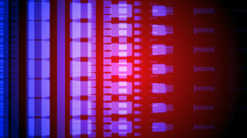 moving color code Stock Video Footage