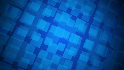 blue square array Stock Video Footage