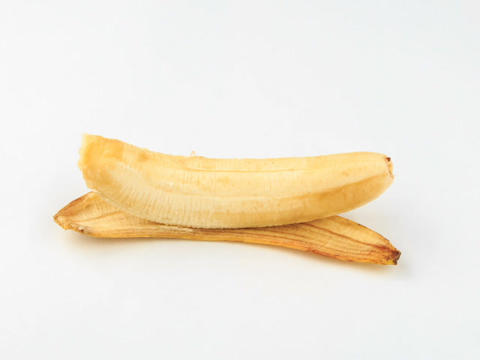Banana dark. Time Lapse Stock Video Footage