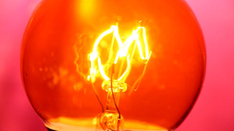 Tungsten bulb Stock Video Footage