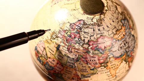 Old globe Footage