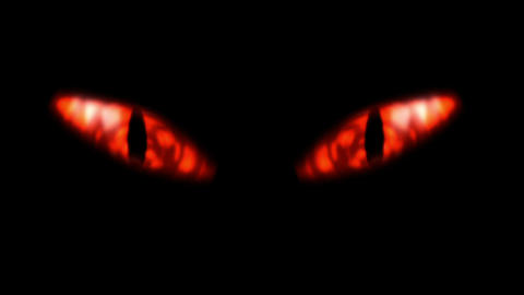 Eyes of the Evil Stock Video Footage