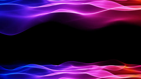 abstract background, soft colorful animation Stock Video Footage