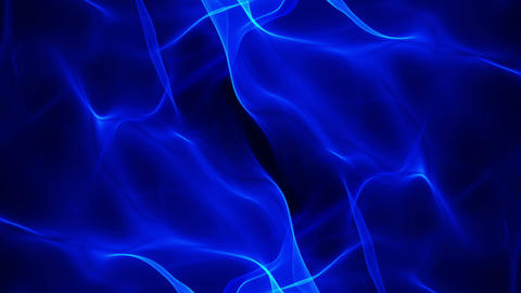 abstract background, blue soft flowing animation Stock Video Footage