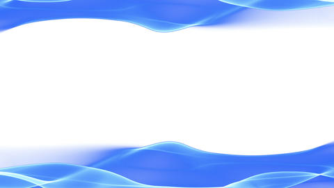 abstract background, soft blue flowing animation Stock Video Footage