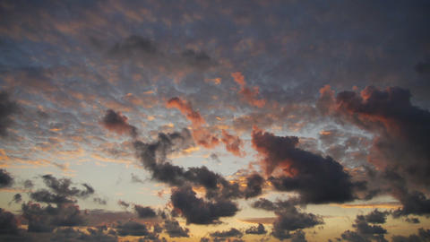 Purple sky Stock Video Footage