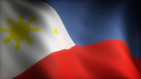 Flag of Philippines Animation