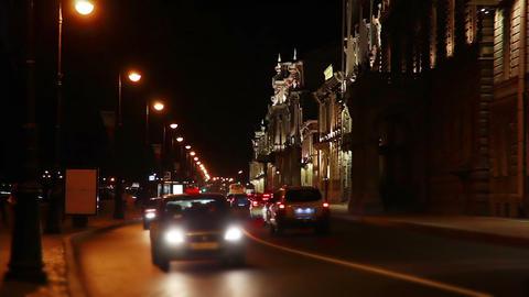 Night quay Footage