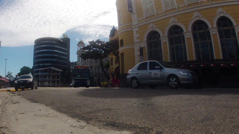 Time Lapse Traffic Recife Brazil Footage