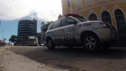 Time Lapse Traffic Recife Brazil Stock Video Footage