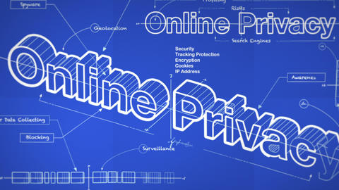 A Blueprint for Online Privacy Animation