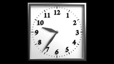 3D Clock 06 Animation