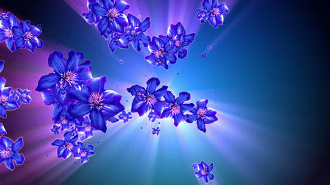 Mother Nature Flower Background Animation