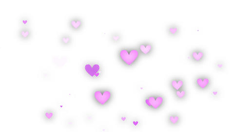 Heart Pink White 2 Animation