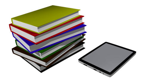 Electronic books Animation