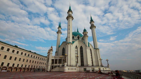 kul sharif mosque in kazan russia Stock Video Footage