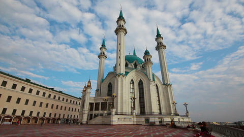 kul sharif mosque in kazan russia Footage