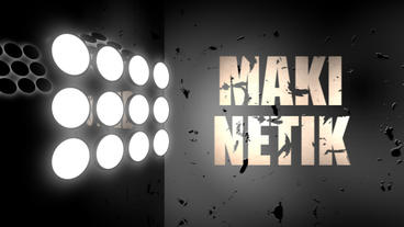 Mekinetic Typography After Effects Project