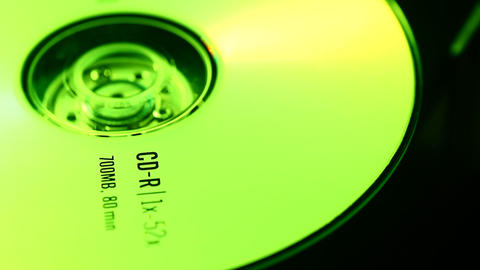 DVD disk Footage
