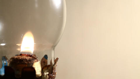 Kerosene lamp Stock Video Footage