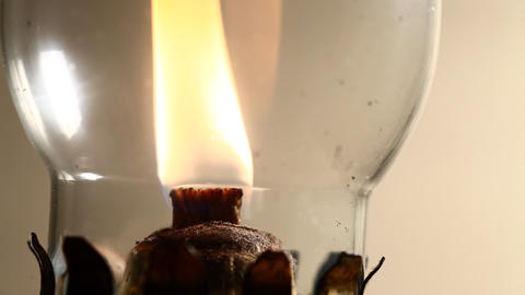 Kerosene lamp Stock Video Footage