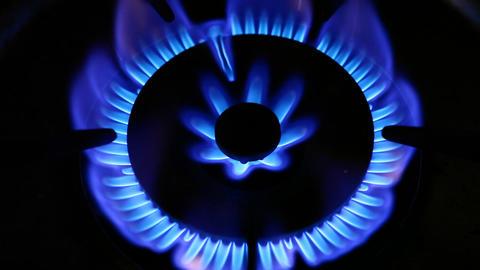 Gas burner Stock Video Footage
