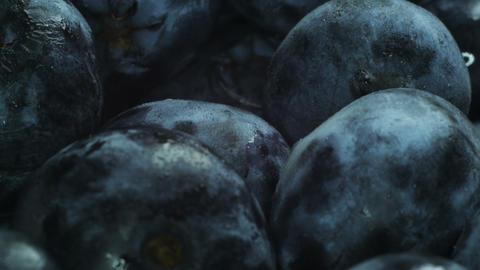 Huge blueberries Footage