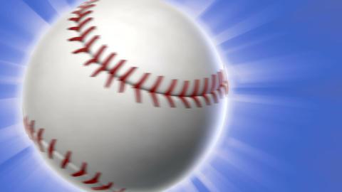 Baseball Transition Stock Video Footage