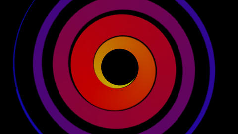 hypno color swirl Stock Video Footage