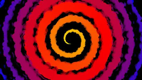 hypnotize color paint Stock Video Footage