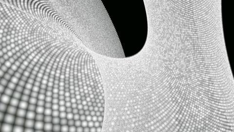 white dot plane Animation