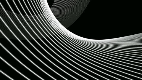 black & white network Stock Video Footage