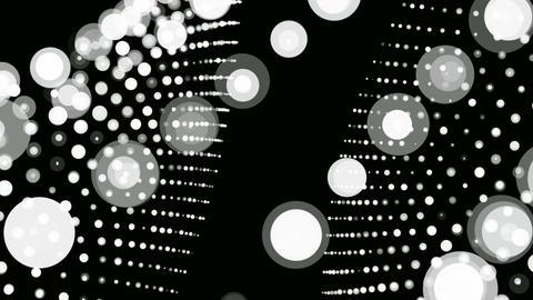 white retro dot Animation