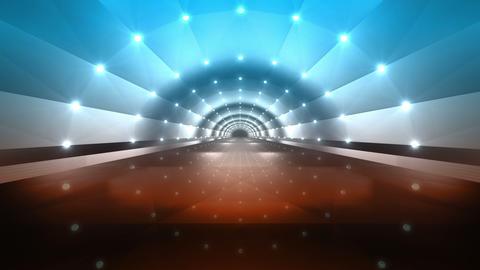 Tunnel tube road a 4c 2 HD 動画素材, ムービー映像素材