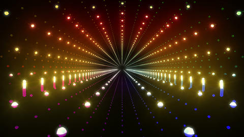 Tunnel tube space road b 4c 2 HD Stock Video Footage