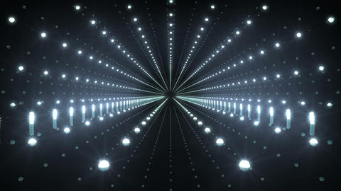 Tunnel tube space road b 4d 1 HD Stock Video Footage