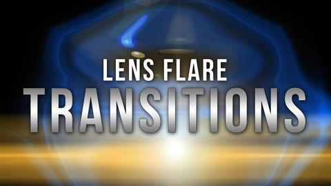 lens flare transitions pack After Effects Template