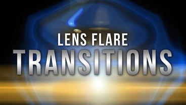 Lens Flare Transitions Pack stock footage