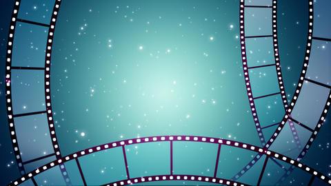 Filmstrip_Loop Stock Video Footage