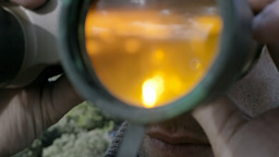 Binoculars Stock Video Footage