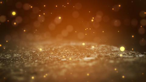 Dispersed Particles stock footage