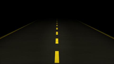 Night Road loop 02 Stock Video Footage