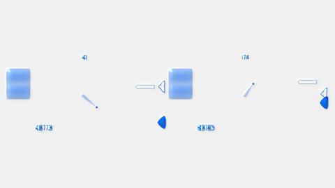 computer web hi-tech software panel,digital background Stock Video Footage