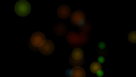 circle bokeh glow Stock Video Footage