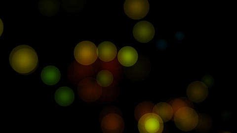 circle bokeh glow Animation